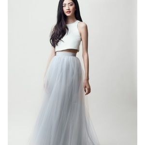 Alexandra Grecco tulle skirt in IVORY
